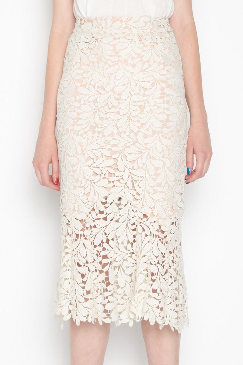 Skirt H044 Cream 2