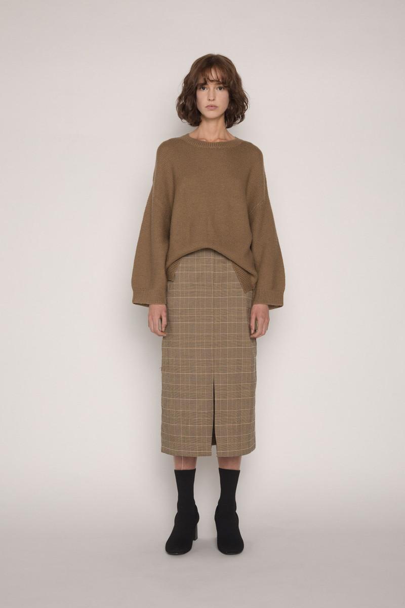 Skirt H120 Brown 1
