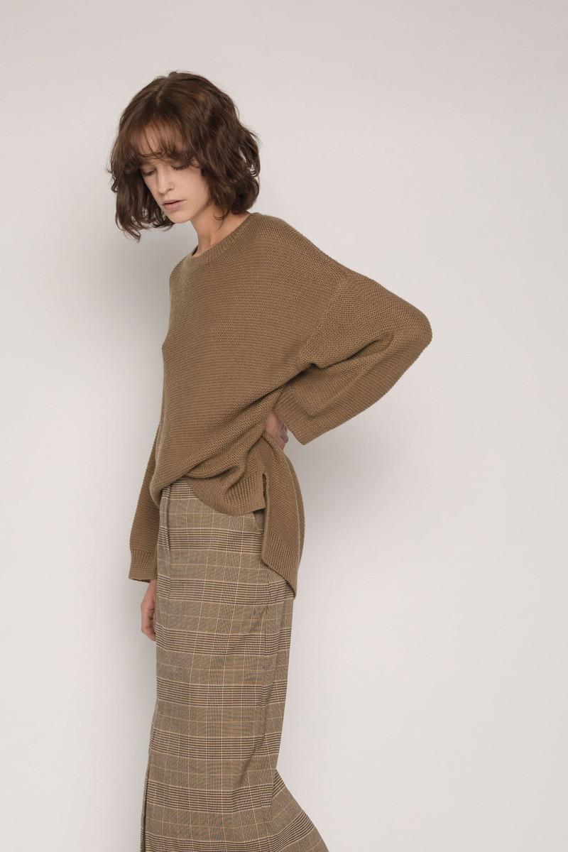 Skirt H120 Brown 2