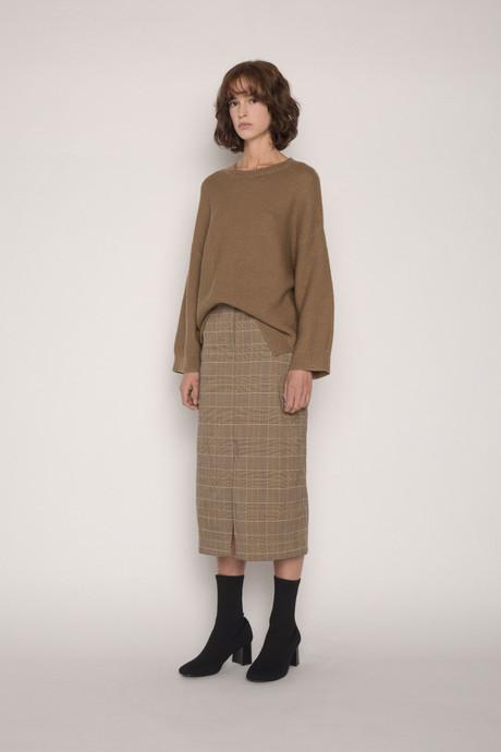 Skirt H120 Brown 3