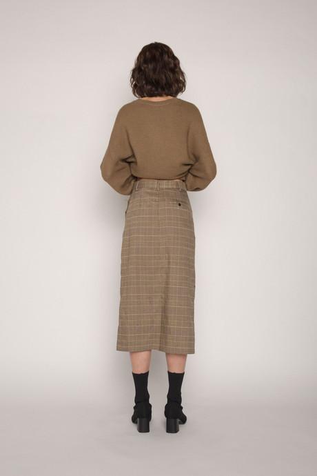 Skirt H120 Brown 4