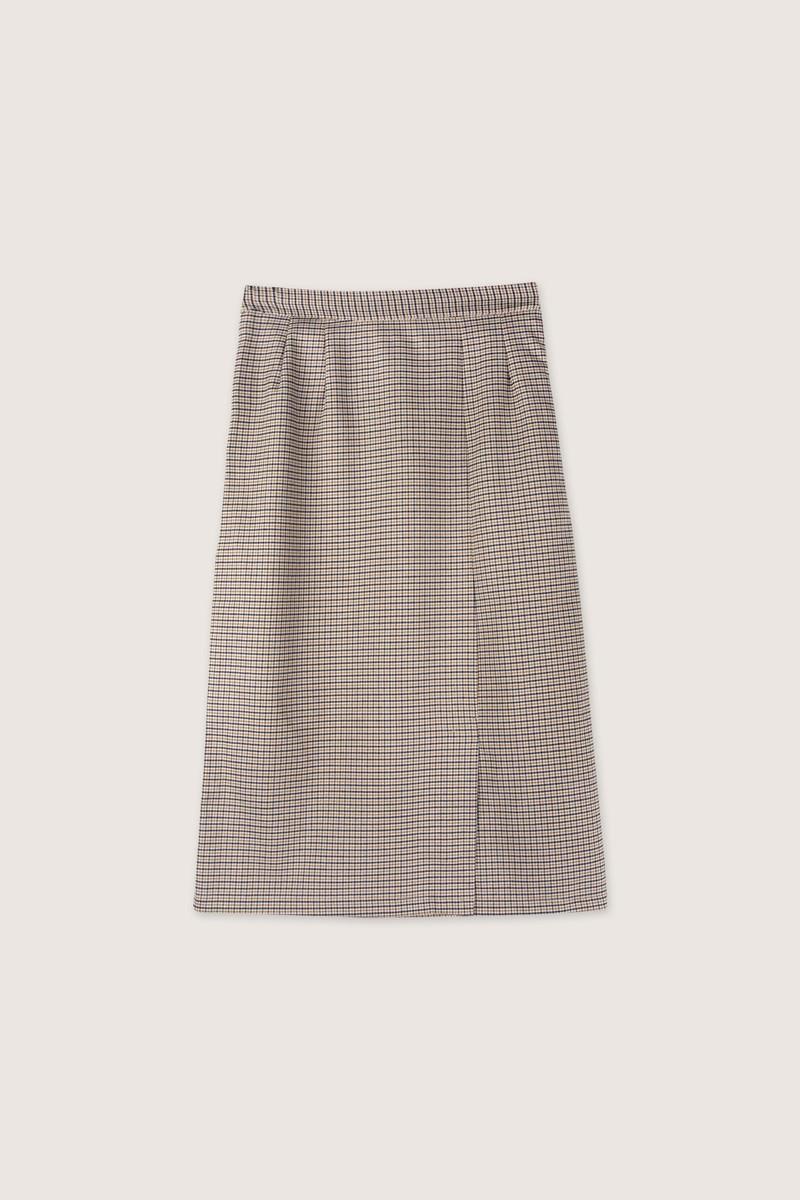 Skirt H122 Beige 7