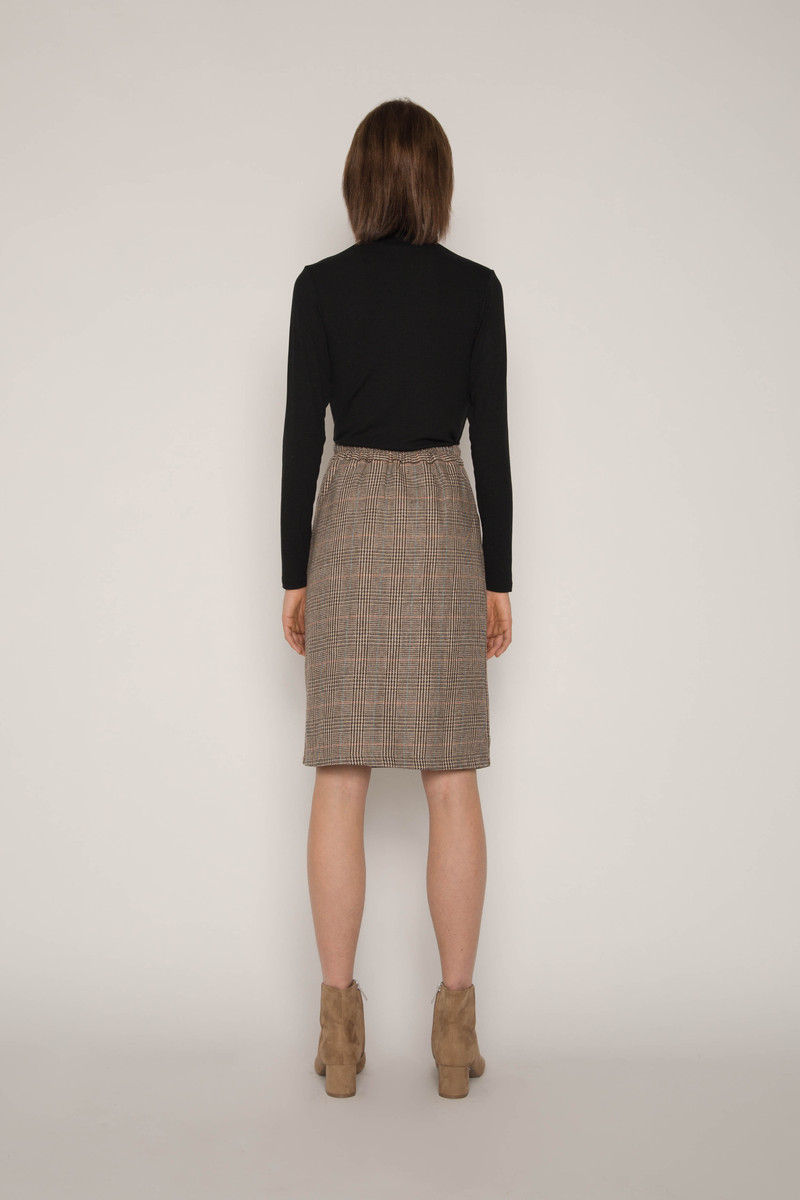 Skirt H130 Brown 4