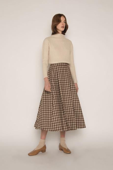 Skirt H143 Beige 1