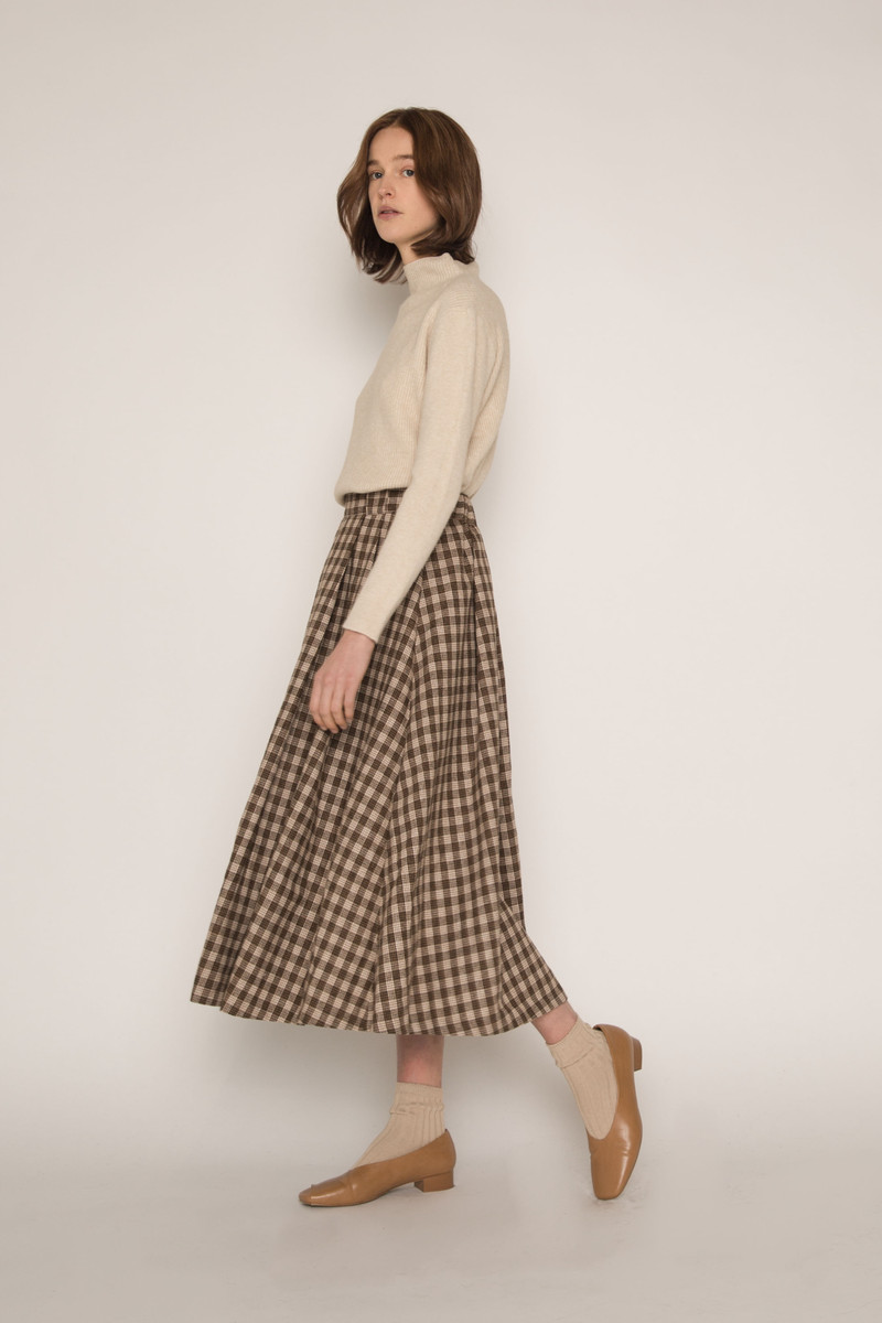 Skirt H143 Beige 2