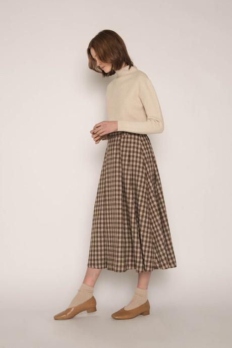 Skirt H143 Beige 3