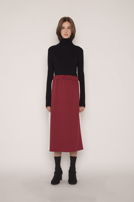 Skirt H166 Wine 1