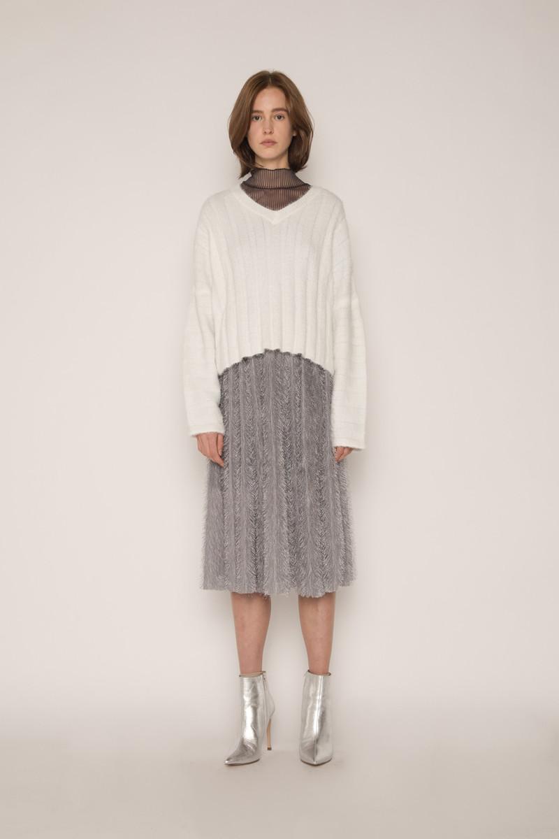 Skirt H168 Gray 1