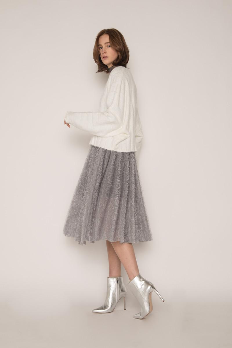 Skirt H168 Gray 3