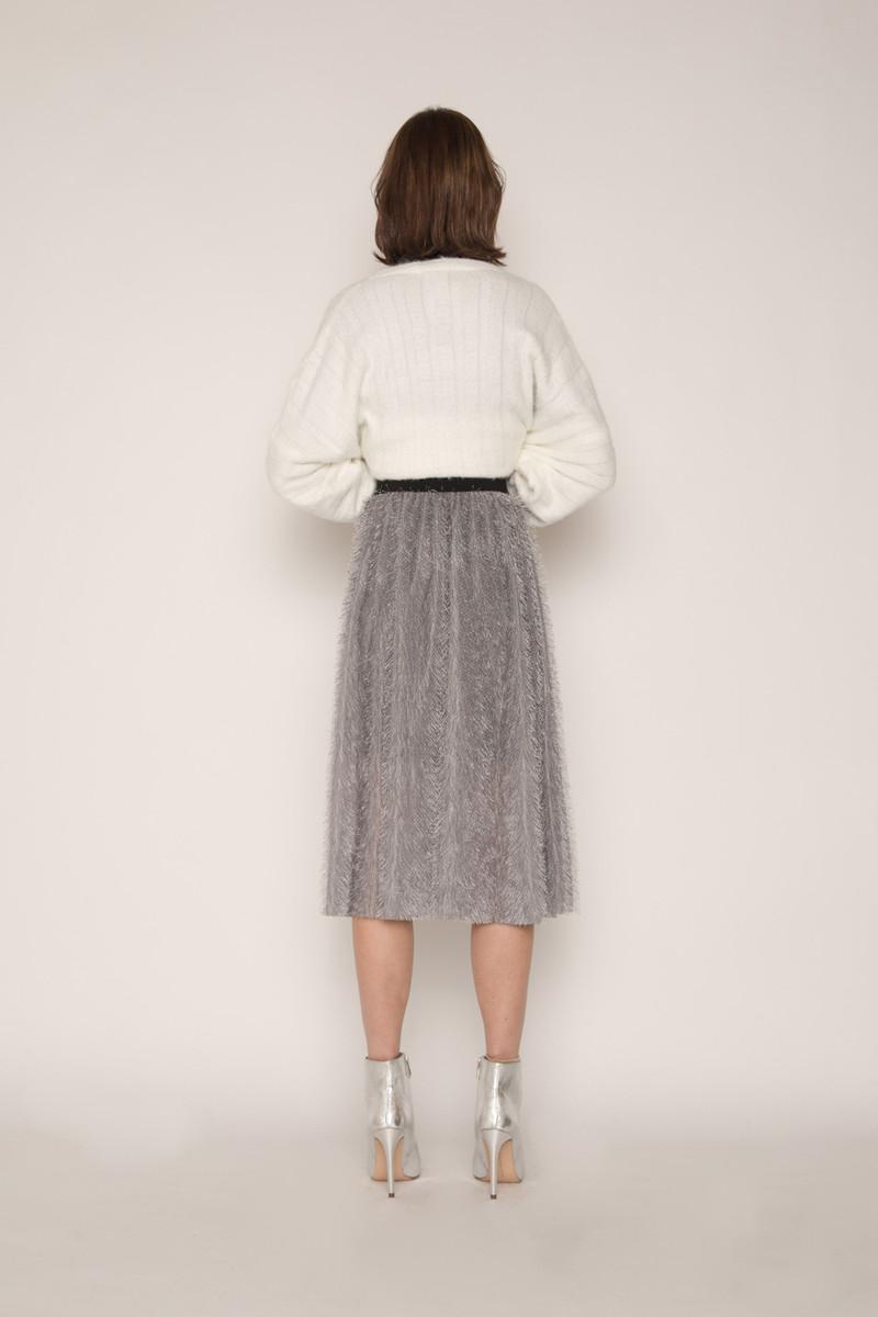 Skirt H168 Gray 4