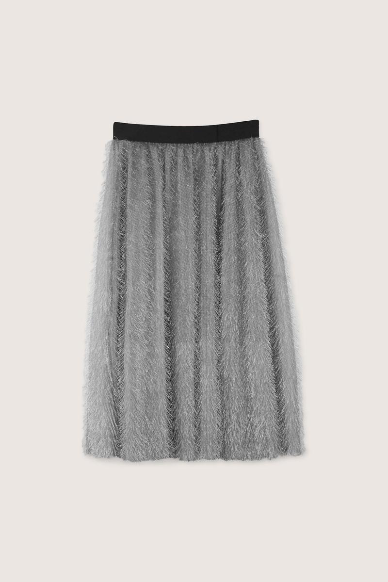 Skirt H168 Gray 7