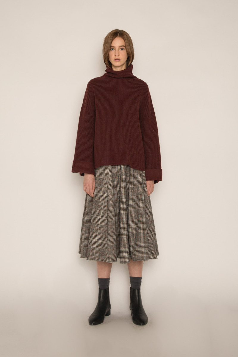Skirt H170 Gray 2