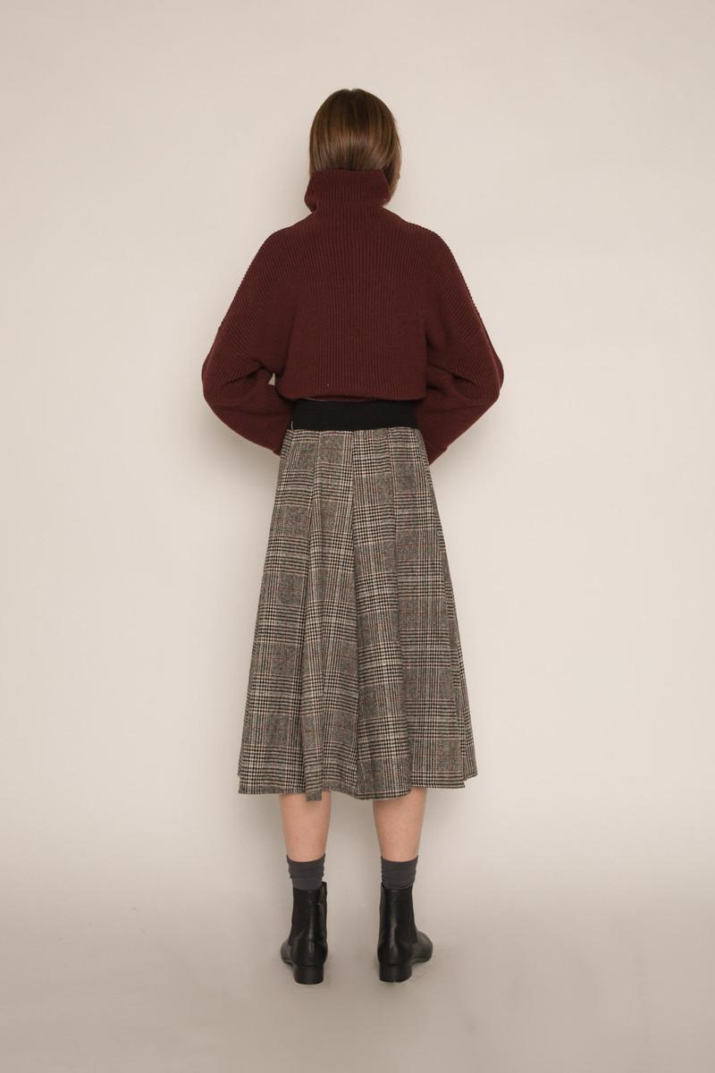 Skirt H170 Gray 4