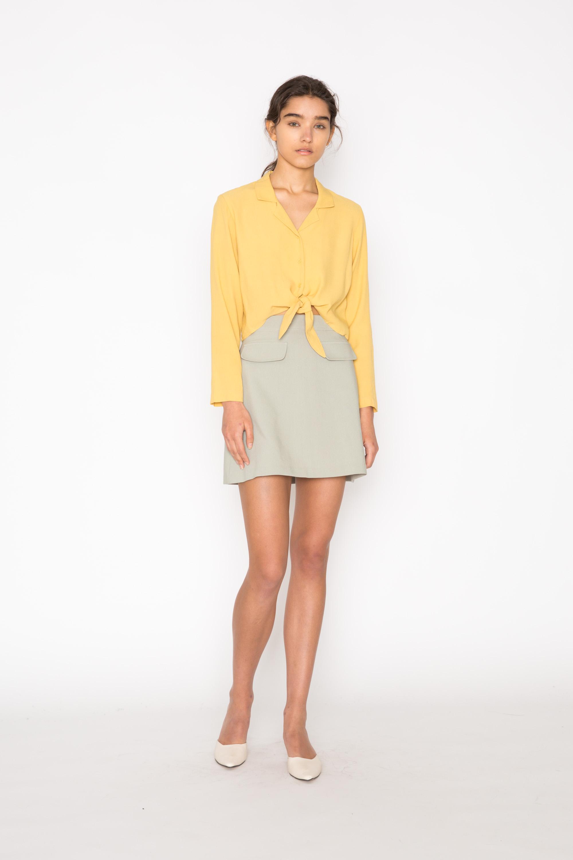 Skirt H228 Green 1