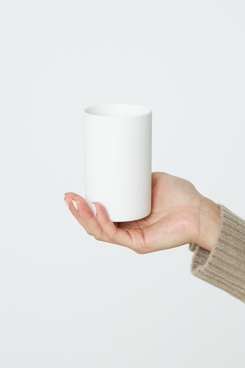 Slim Porcelain Cup 2939 White 1