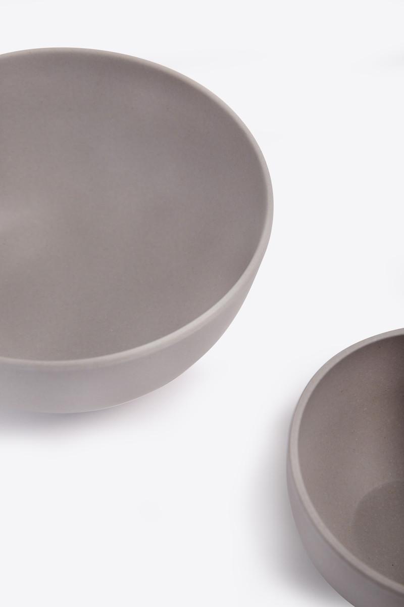 Small Bamboo Bowl Set 2854 Gray 5