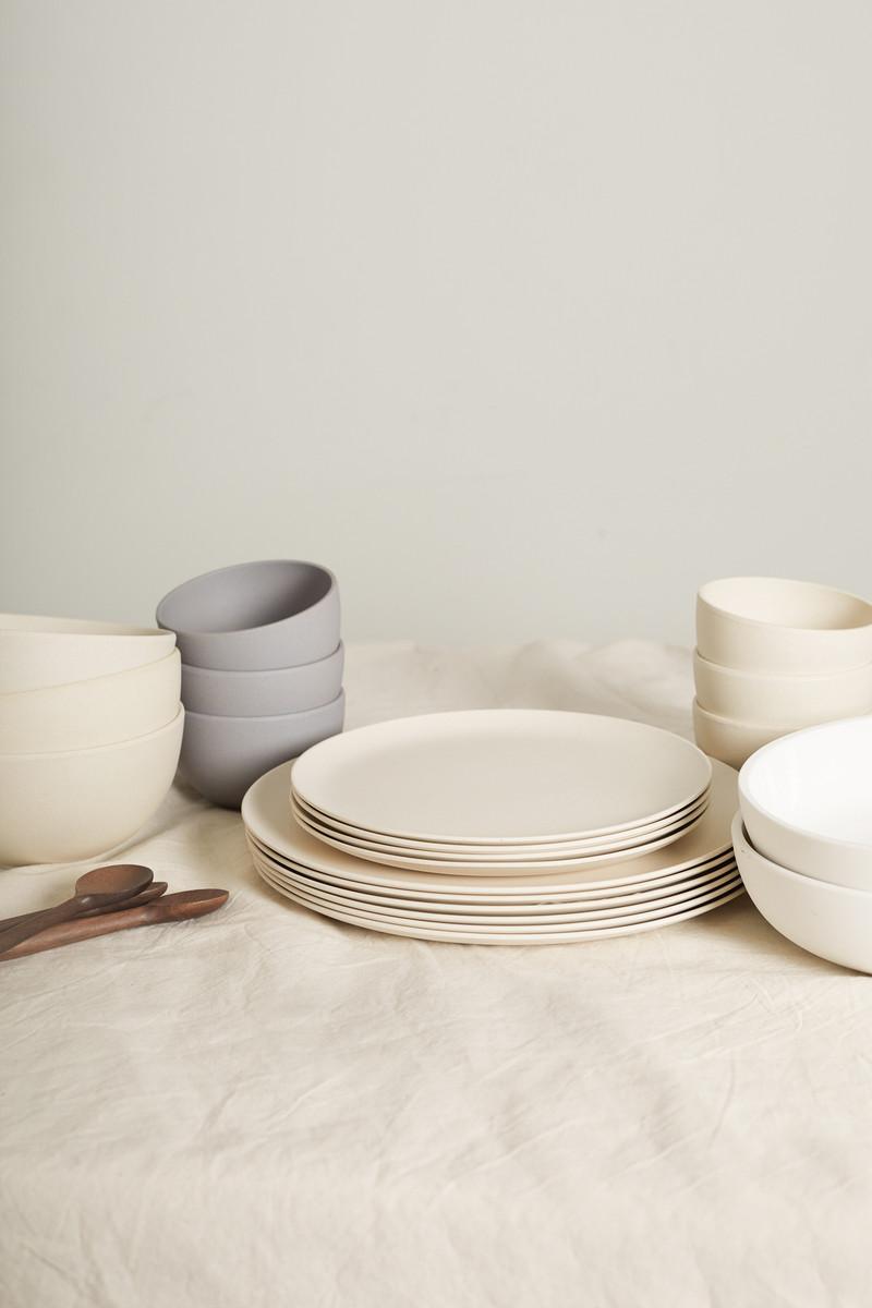 Small Bamboo Bowl Set 2854 Gray 6