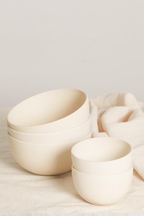 Small Bamboo Bowl Set 2855