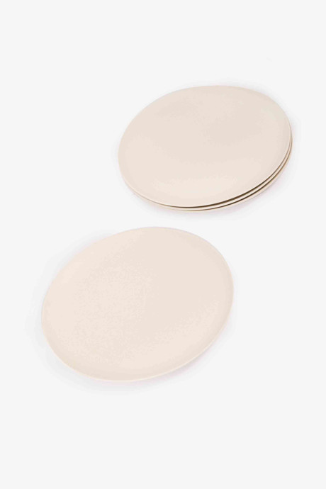 Small Bamboo Plate Set 2858 Cream 3