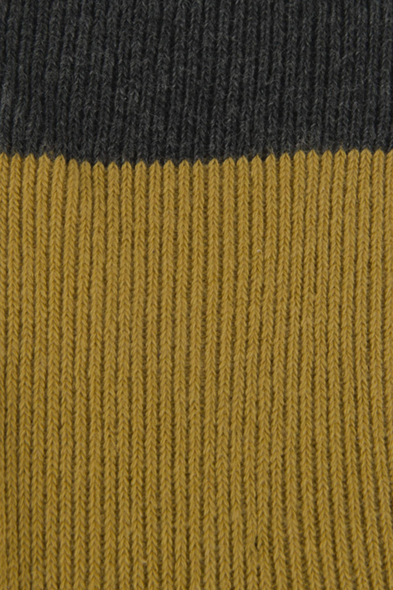 Sock H038 Mustard 4