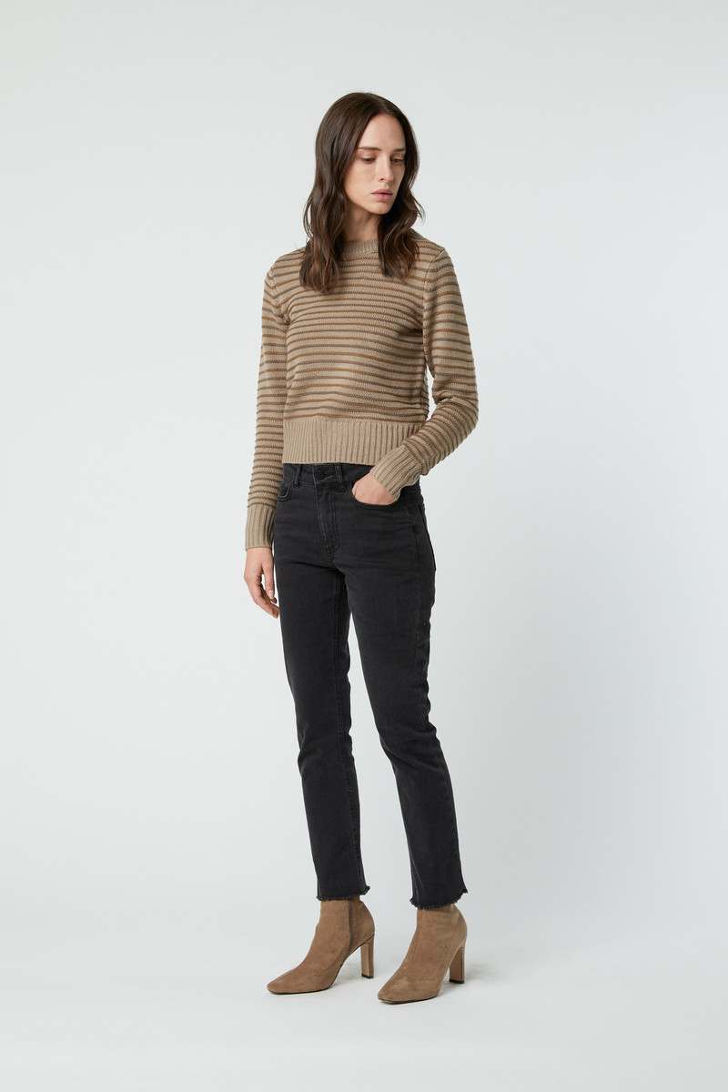 Sweater 2808 Taupe 1