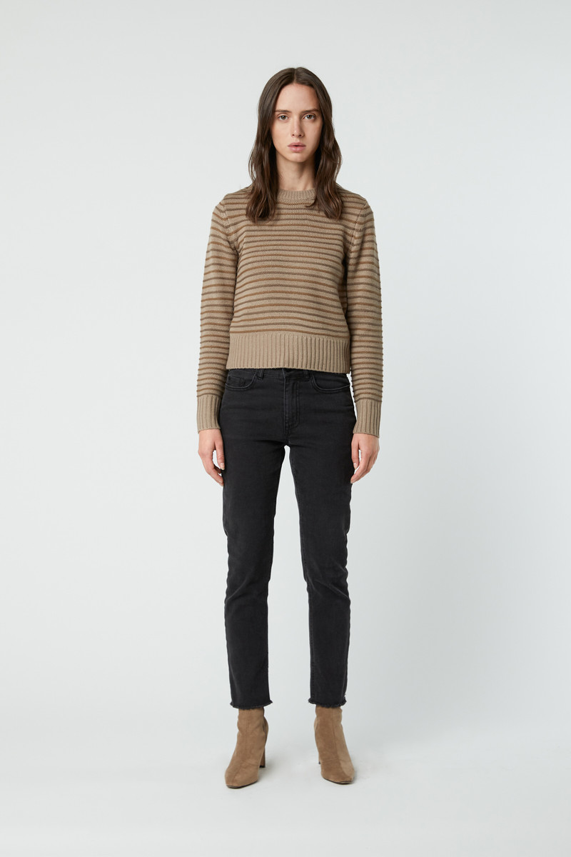 Sweater 2808 Taupe 3