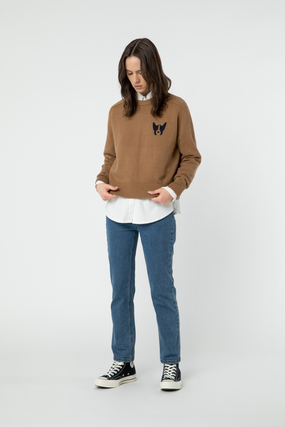 Sweater 2889 Camel 1