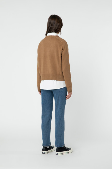 Sweater 2889 Camel 4