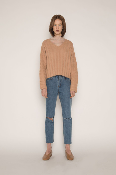 Sweater H052 Camel 1