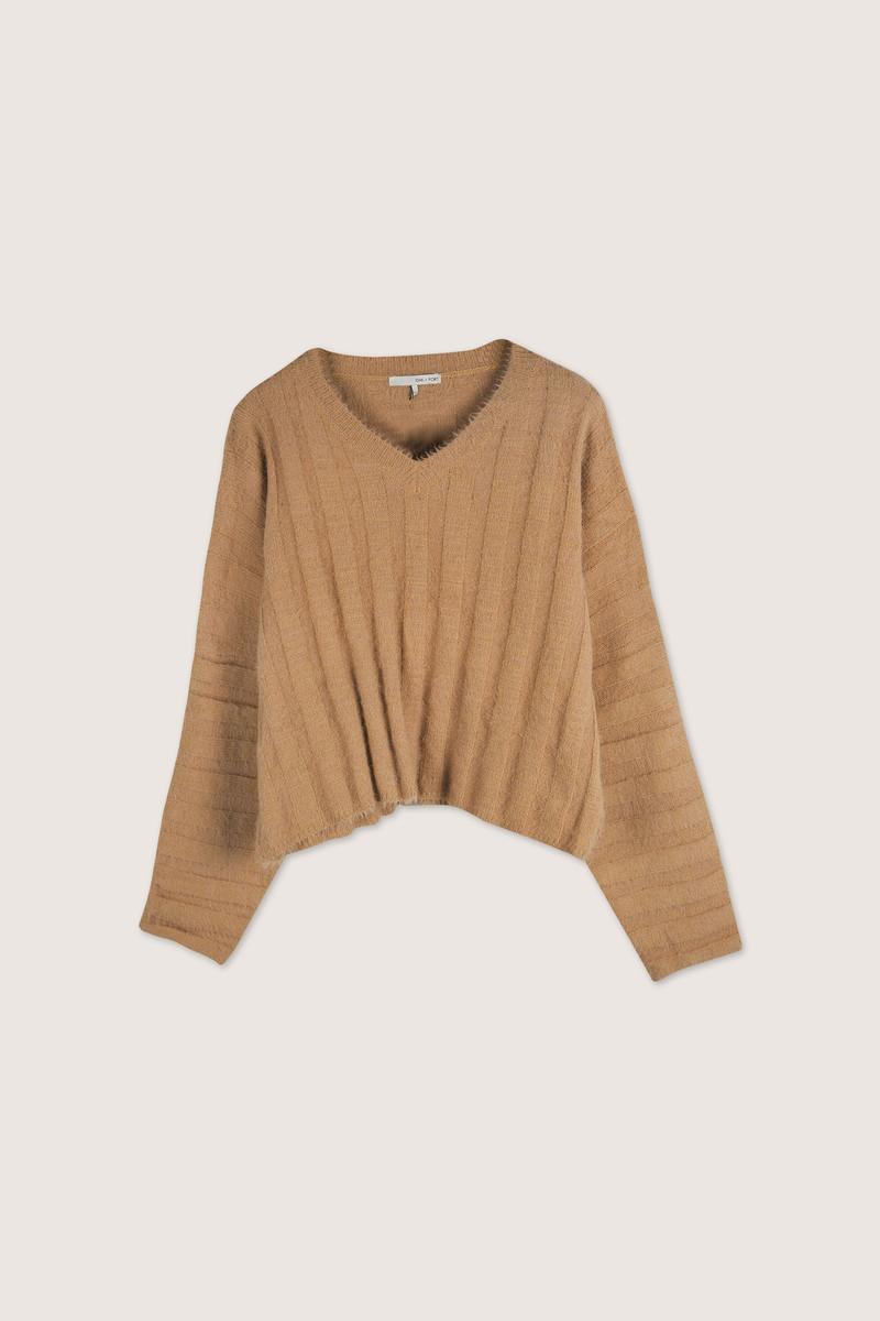 Sweater H052 Camel 10