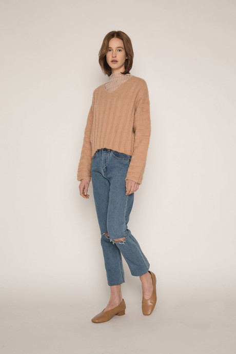 Sweater H052 Camel 2