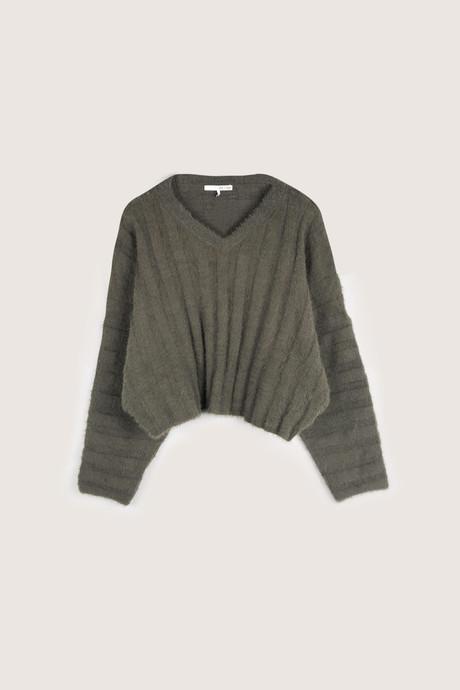 Sweater H052 Olive 13