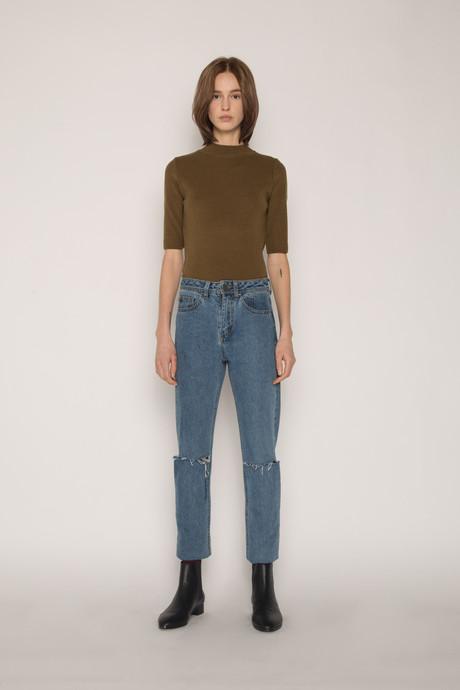 Sweater H058 Olive 1