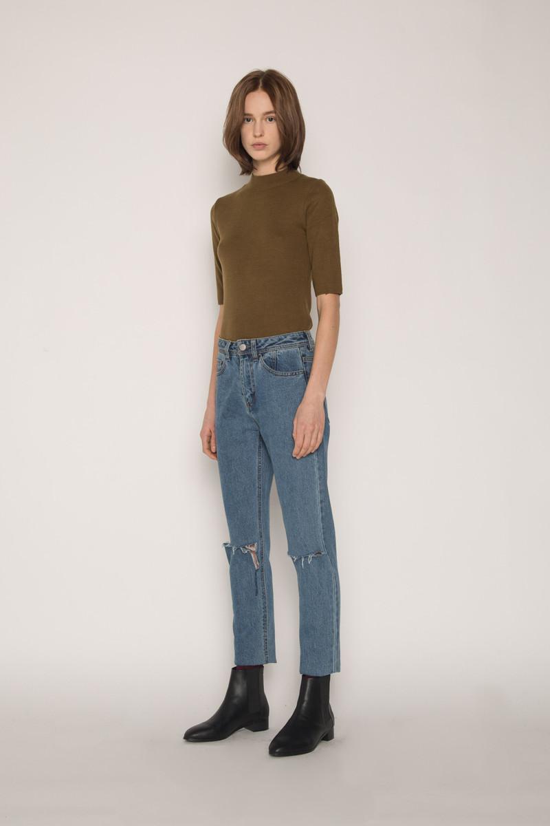 Sweater H058 Olive 3