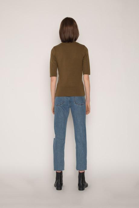 Sweater H058 Olive 4