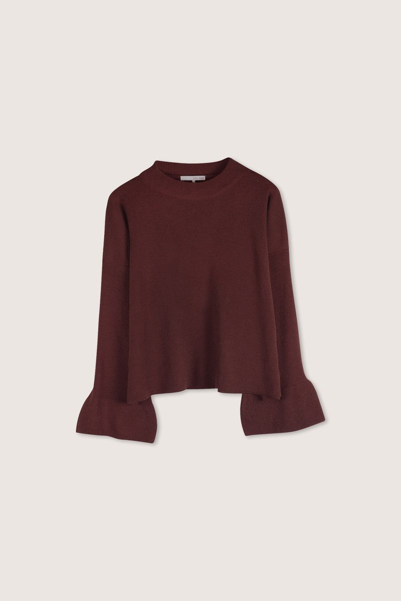 Sweater H063 Wine 5