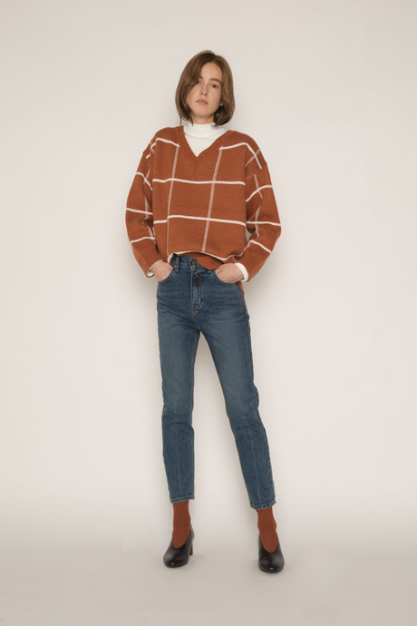 Sweater H067 Brown 2