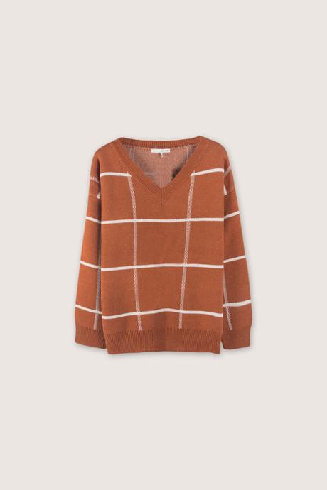Sweater H067 Brown 5
