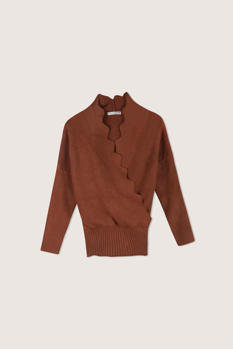 Sweater H069 Brown 7