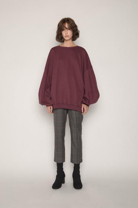 Sweater H324 Wine 1