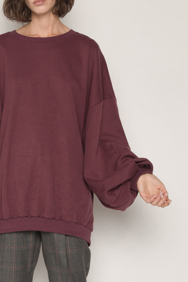 Sweater H324 Wine 2