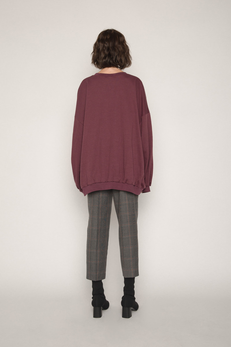 Sweater H324 Wine 4