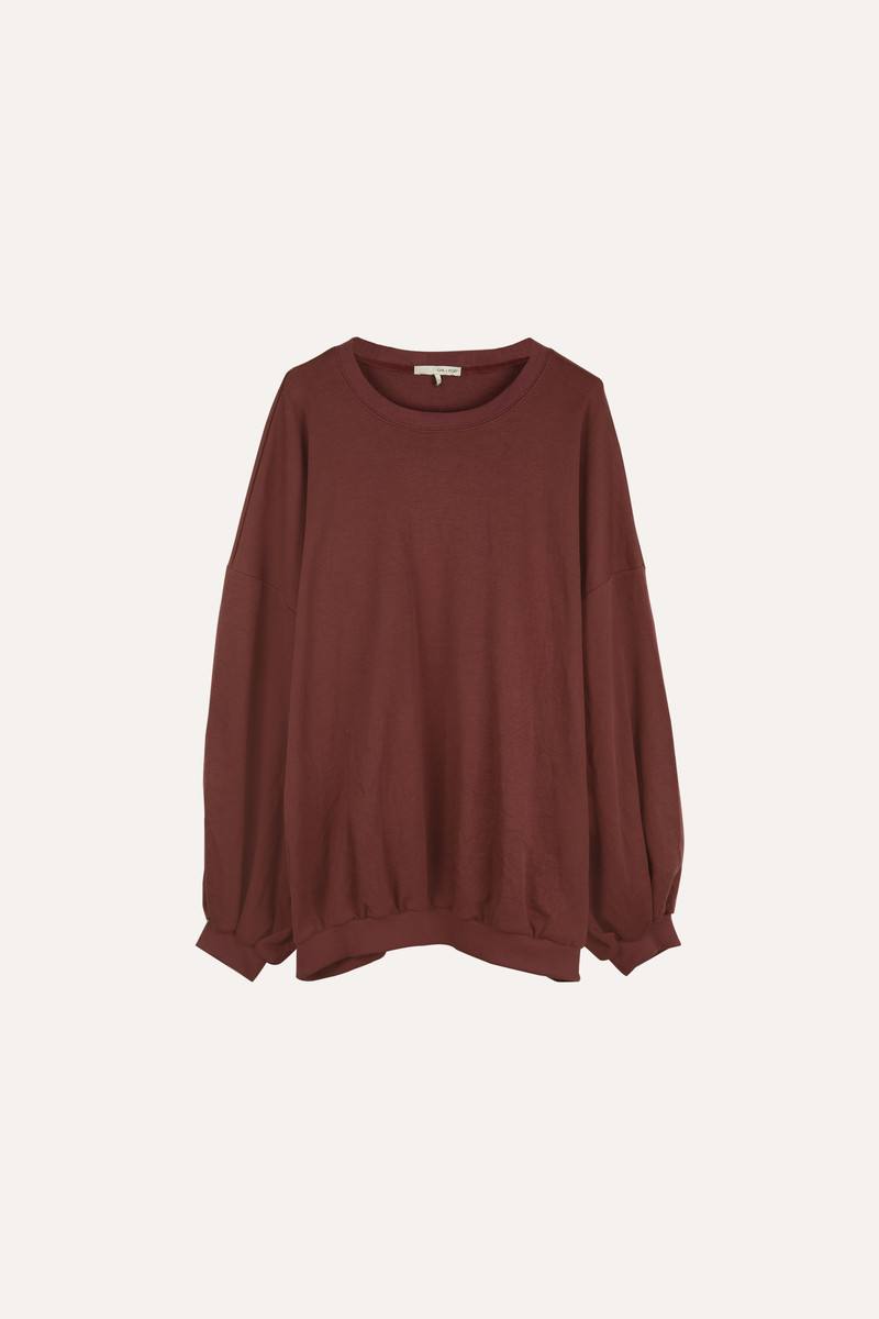 Sweater H324 Wine 5
