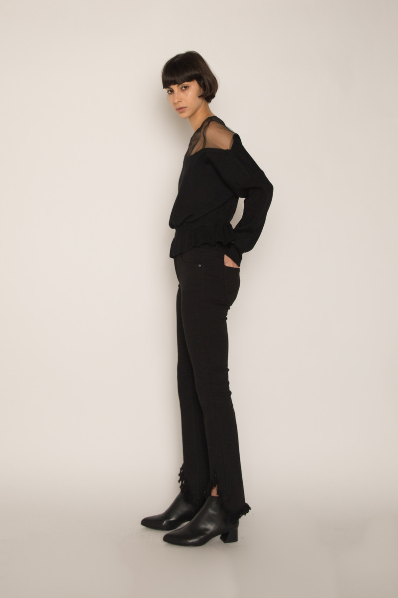 Sweater H538 Black 2