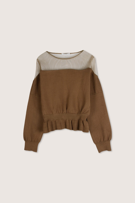 Sweater H538 Brown 7