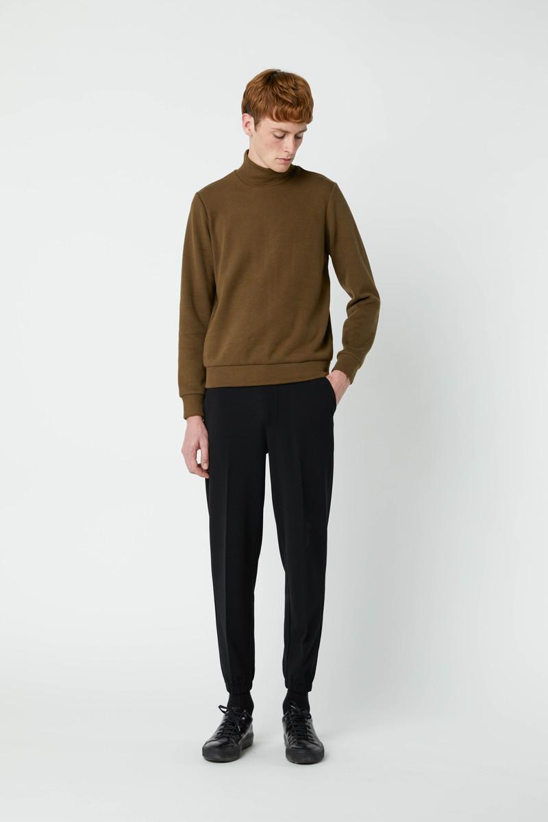 Sweatshirt 2667 Olive 4