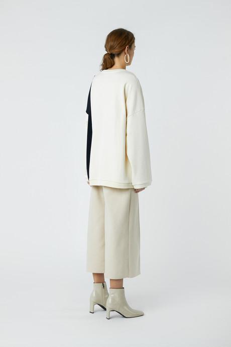 Sweatshirt 3385 Cream 4