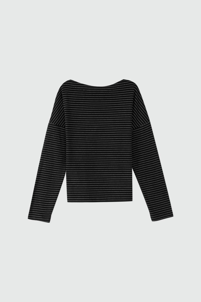 TShirt 2869 Black Stripe 15