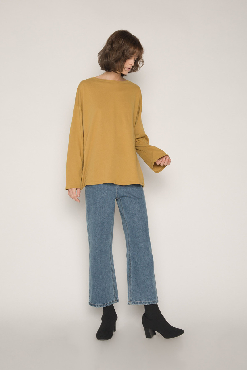 TShirt H373 Mustard 5