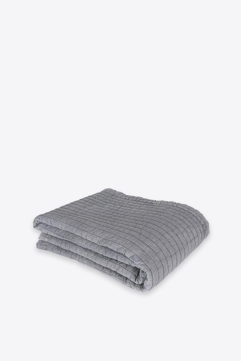Throw Quilt 1002 Gray 4